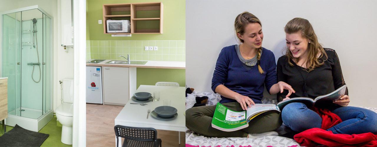Appartement étudiant à proximité de Clermont-Ferrand